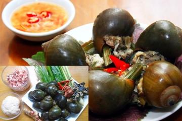 Bỏ túi, cách làm ốc nhồi thịt thơm ngon, bổ dưỡng đơn giản dễ làm