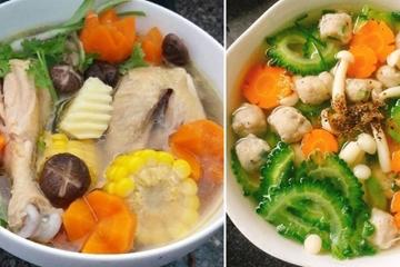 Bỏ túi, top các món canh ngon, dễ nấu, bổ dưỡng với công thức dễ làm