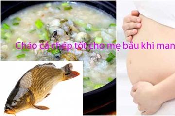 Các món ngon từ cá chép cho bà bầu dễ nấu, giàu dinh dưỡng bồi bổ, an thai
