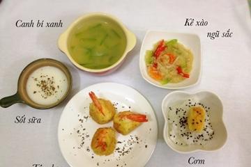 Các thực đơn cho bé biếng ăn,vừa khoa học giúp các mẹ có các món ăn cho bé an toàn nhất