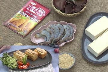 Cách làm đậu hũ nhồi tôm chiên giòn vừa ngon lại dễ làm