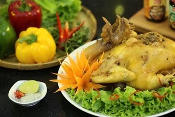 Cách làm gà hấp nước mắm nhĩ thơm ngon đơn giản