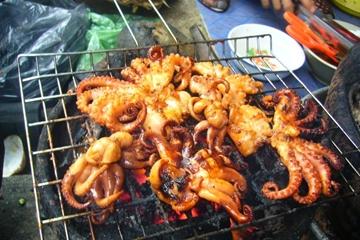 Cách làm món bạch tuộc  nướng thơm ngon, bổ dưỡng