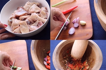Cách ướp gia vị thịt gà, cá, tôm, heo nướng thơm ngon đúng vị