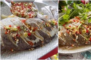 Hấp cá kiểu này thịt cá vừa ngọt vừa thơm lại không hề tanh
