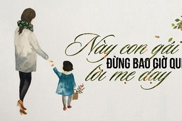 Quà tặng cuộc sống, Mẹ dạy con về tinh thần chân quý, bài hát mẹ yêu ý nghĩa
