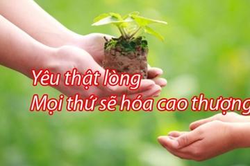 Quà tặng cuộc sống, tình yêu cao thượng ý nghĩa nhân văn sâu sắc