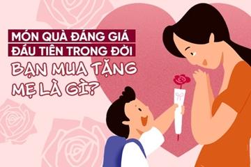 Quà tặng mẹ? Món quà tặng mẹ ý nghĩa vô giá nhất ngày mùng 8-3 là gì?
