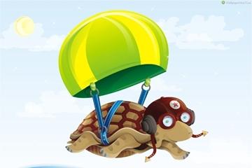 Rùa học bay câu chuyện hay ý nghĩa cho bé