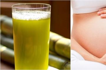 Tác dụng của việc uống nước mía cho mẹ bầu, cùng lưu ý tốt để sử dụng đúng nhất