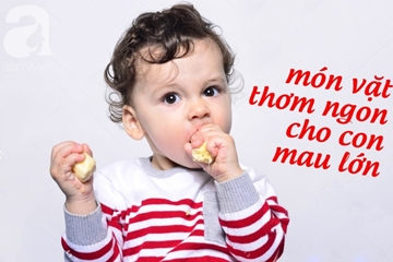 Thực đơn cho bé biếng ăn giúp bé ăn ngon miệng giàu dinh dưỡng